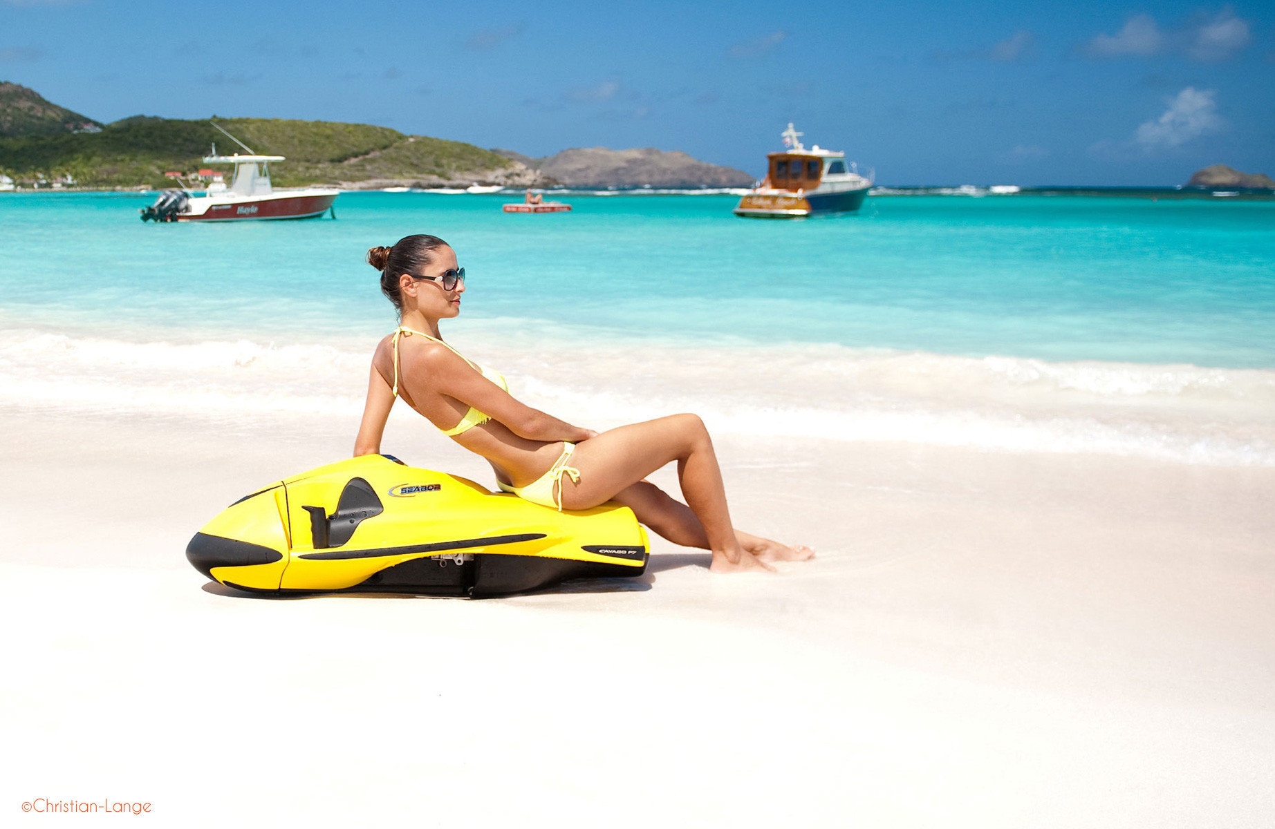 the seabob adventure is only available with Speedboat Xperience