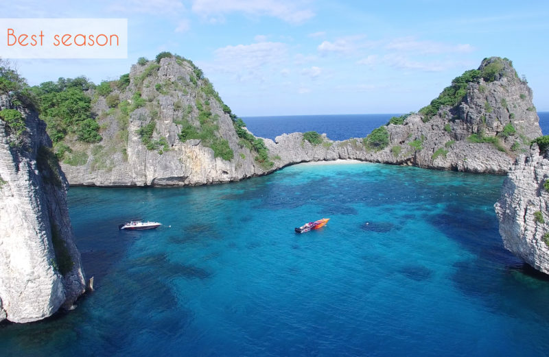 The best season to visit Thailand